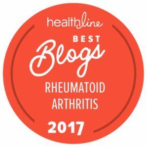 Arthritis Ashley Named a Top Rheumatoid Arthritis Blog byHealthline